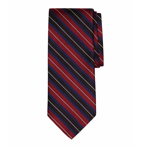Split Stripe Tie by Brooks Brothers in Designated Survivor - Season 1 Preview