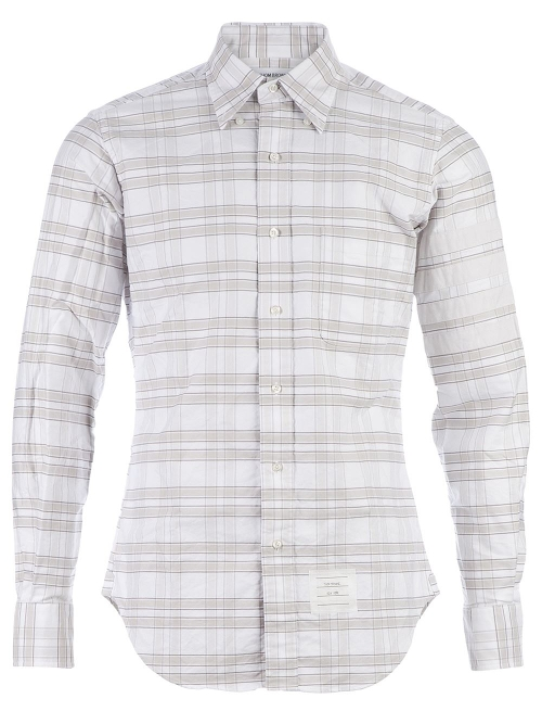 Striped Button Down Shirt by Thom Browne in Fast Five