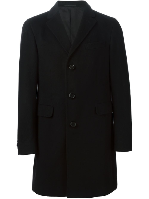 Single Breasted Coat by Z Zegna in Billions - Season 1 Episode 1