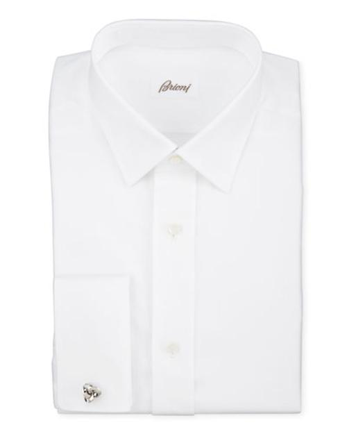 Twill French-Cuff Trim-Fit Shirt by Brioni in The Other Woman