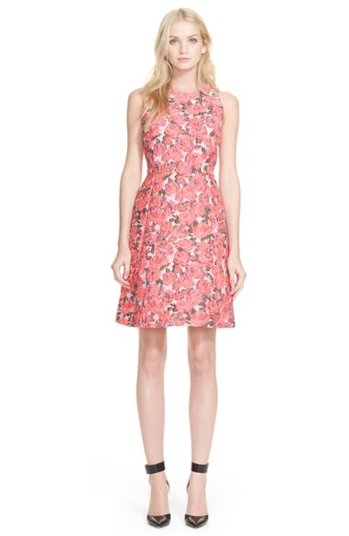 Flare Dress by Kate Spade New York in Scream Queens - Season 1 Episode 2