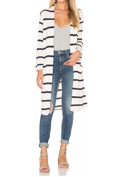 Tucson Striped Loose Knit Cardigan by Splendid in Fuller House