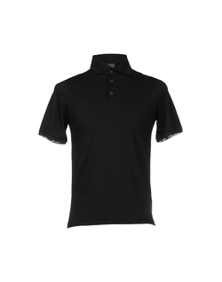 Short Sleeve Polo Shirt by Cruciani in Begin Again