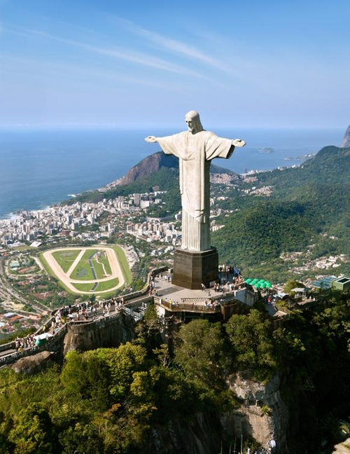 Christ The Redeemer Statue Rio de Janeiro, Brazil in Mechanic: Resurrection