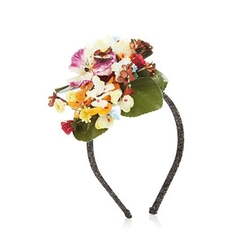 Handmade Floral Headband by Patricia Underwood in Sisters