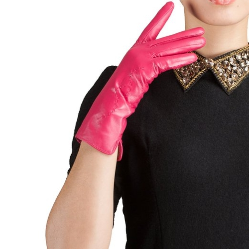 Nappa Suede Lined Gloves by Kursheuel in Absolutely Anything
