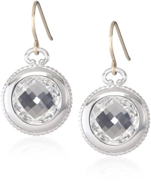 Classics Rock Crystal Single Drop Earrings by Monica Rich Kosann in Mortdecai