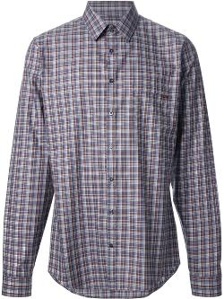Checked Shirt by Gucci in Couple's Retreat