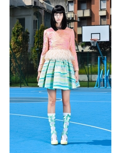SS15 Skirt by Daizy Shely in Scream Queens