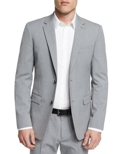 Wellar New Tailor Wool Blazer by Theory in Bleed for This