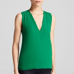 Sleeveless V Top by Alice + Olivia in New Girl
