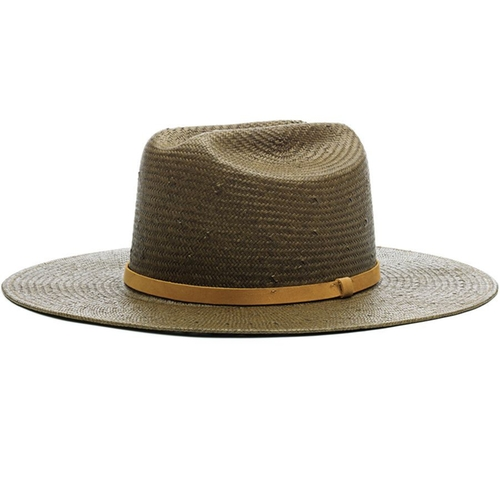 Shooter Straw Fedora Hat by Brixton in Sixteen Candles