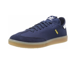 Samba MC Lifestyle Indoor Sneakers by Adidas Originals in Flaked