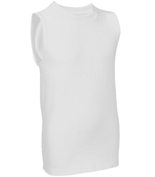 Boys' Sleeveless Tee by Fruit of the Loom in Unbroken