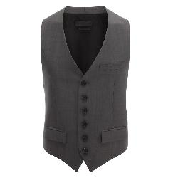 WOOL MOHAIR WAISTCOAT SPRING/SUMMER by ALEXANDER MCQUEEN in Transcendence
