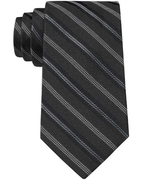 Highway Stripe Slim Tie by DKNY in Frank Miller's Sin City: A Dame To Kill For