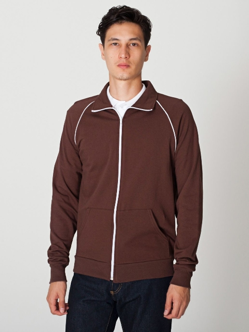California Fleece Track Jacket by American Apparel in Boyhood