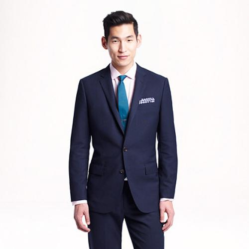 Ludlow Traveler Suit Jacket by J. CREW in About Last Night