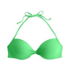 Gathered Halter Bikini Top by J.Crew in Spring Breakers