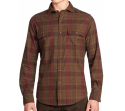 Plaid Button-Down Shirt by Polo Ralph Lauren in Animal Kingdom
