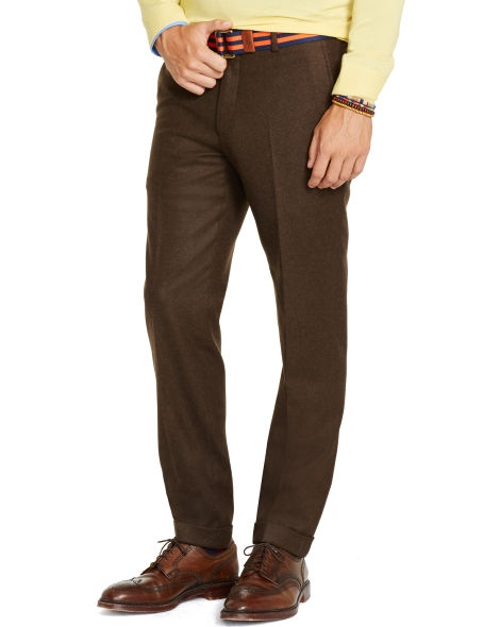 Slim-Fit Wool Flannel Trouser by Polo Ralph Lauren in The Longest Ride