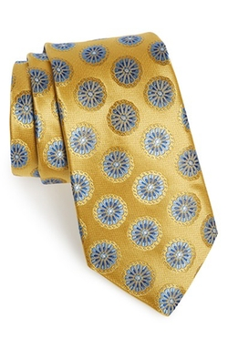 Medallion Silk Tie by Nordstrom in American Horror Story