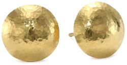 Lentil High-karat Gold Stud Earrings by Gurhan in The Other Woman