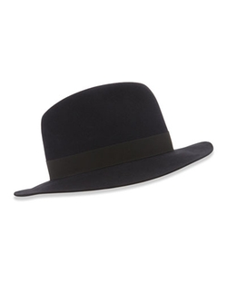 Burt Fedora Hat by Loro Piana in The Hateful Eight