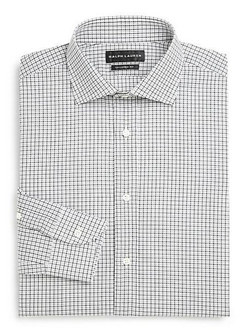 Tailored Checked Dress Shirt by Ralph Lauren Black Label in Need for Speed