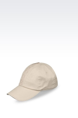 Cotton Baseball Cap by Emporio Armani in Everest