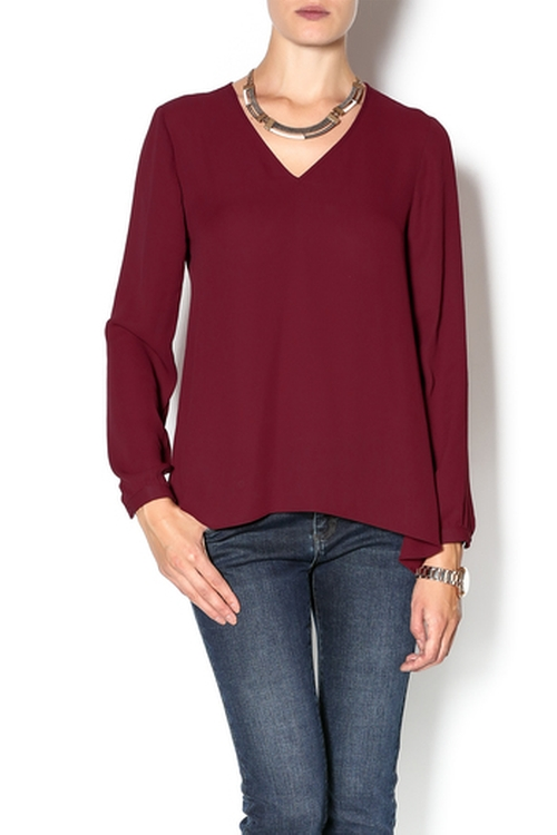 Cabernet Top by Olive+Oak in The Heat