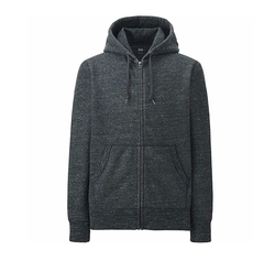 Full-Zip Hoodie Sweater by Uniqlo in Jason Bourne