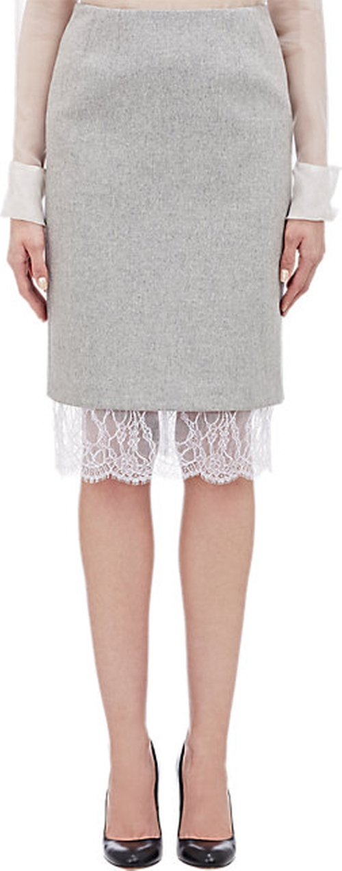 Lace Trim Skirt by Gabriela Hearst in Suits - Season 5 Episode 15