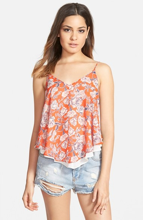 Print Double Layer Camisole by ASTR in Modern Family - Season 7 Episode 3