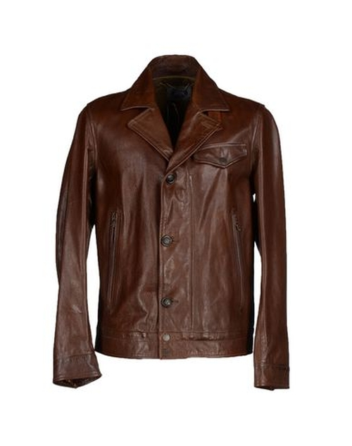 Leather Jacket by C.P. Company in Vinyl - Season 1 Episode 1
