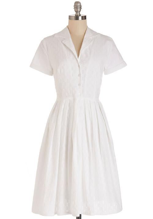 Mod of Approval Dress in Cloud by Myrtlewood in Unbroken