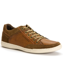 Chandler Lace-Up Lowcut Sneakers by Calvin Klein in Arrow