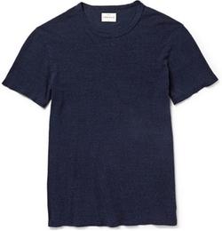 Garçon Slub Cotton And Silk-Blend T-Shirt by Simon Miller in Mr. & Mrs. Smith