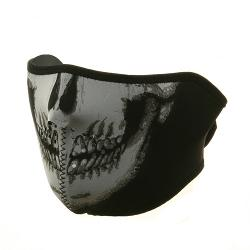 Neoprene Skull Half Face Mask by ZANheadgear in Savages