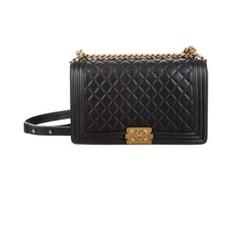 New Medium Boy Bag by Chanel in Empire