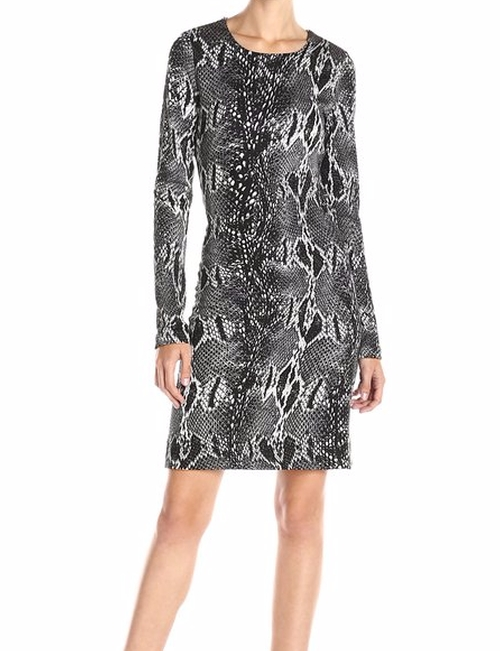 Snake Print Sheath Dress by Karen Kane in Mother's Day