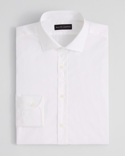 Poplin Barrel Dress Shirt by Ralph Lauren Black Label in Only God Forgives