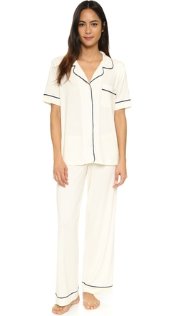 Gisele Short Sleeve PJ Set by Eberjey in Master of None