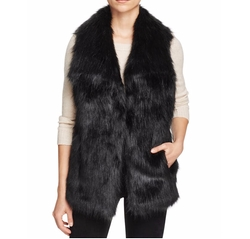 Faux Fur Vest by Via Spiga in Power