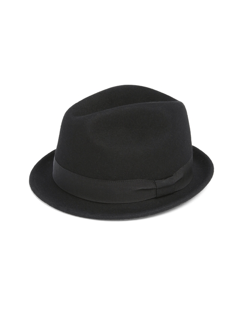Wool Fedora Hat by Saks Fifth Avenue Collection in Austin Powers in Goldmember