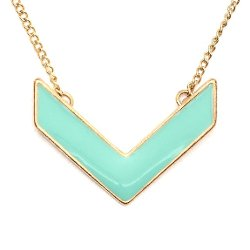 Chevron Necklace by Magic Metal in The DUFF