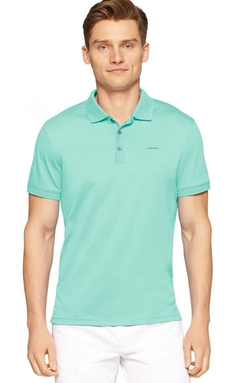 Liquid-Cotton Polo Shirt by Calvin Klein in Sleeping with Other People