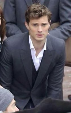 Custom Made Dress Shirt by Anto Beverly Hills in Fifty Shades of Grey