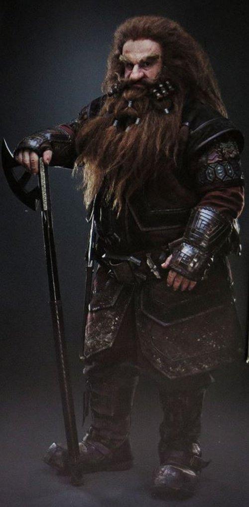 Custom Made Gloin Costume by Ann Maskrey & Bob Buck (Costume Designer) in The Hobbit: The Battle of The Five Armies