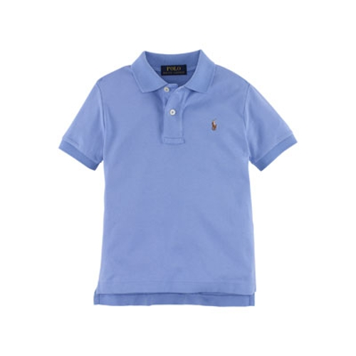 Short-Sleeve Pima Polo Shirt by Ralph Lauren Childrenswear in Boyhood